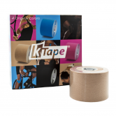 Taśma do kinesiotapingu K-Tape  PREMIUM Cielisty