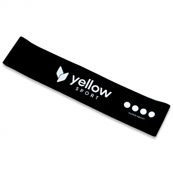 yellowLOOP band czarny (15-20kg)